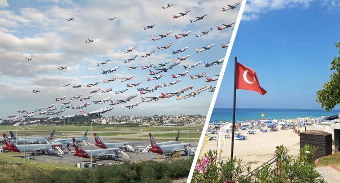 Росавиация допустила чартерные рейсы в Турцию одновременно с регулярными: туры резко подешевеют
