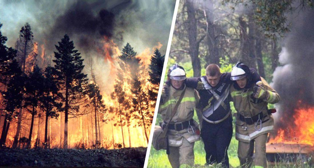 В Анапе эвакуировали свыше 1000 туристов из-за пожаров