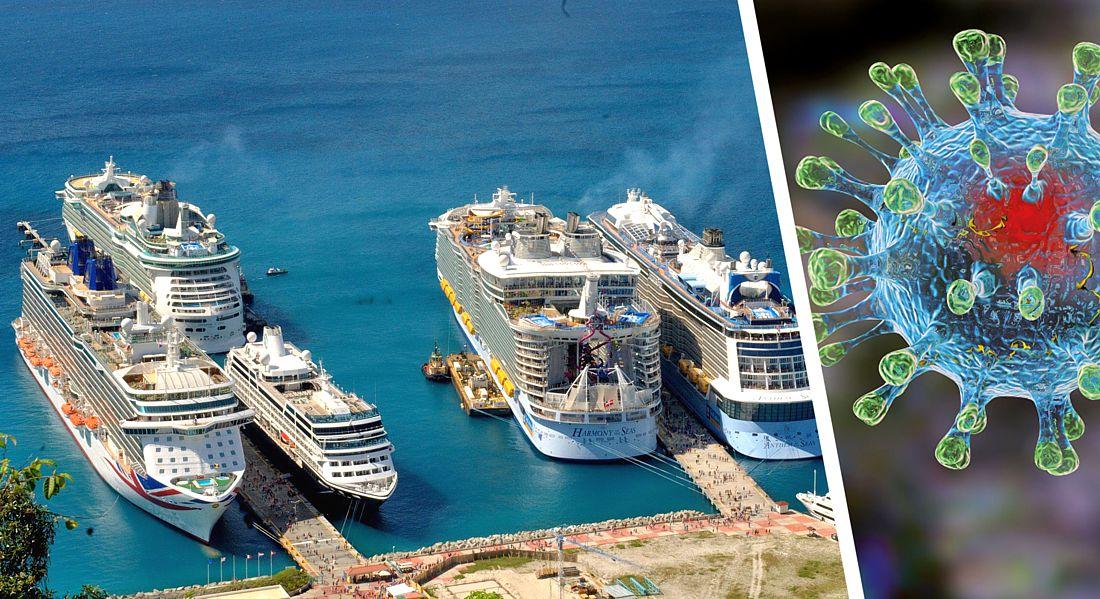 Опять коронавирус: туристы застряли на круизном лайнере из-за Covid-19