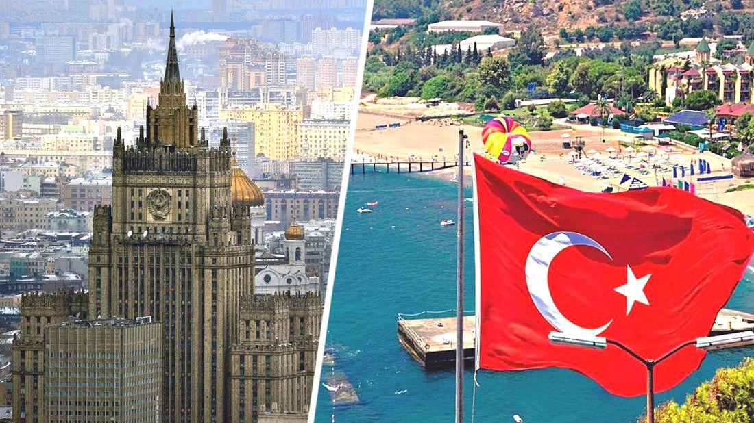 ϟ МИД РФ призвал российских туристов к осторожности в Турции