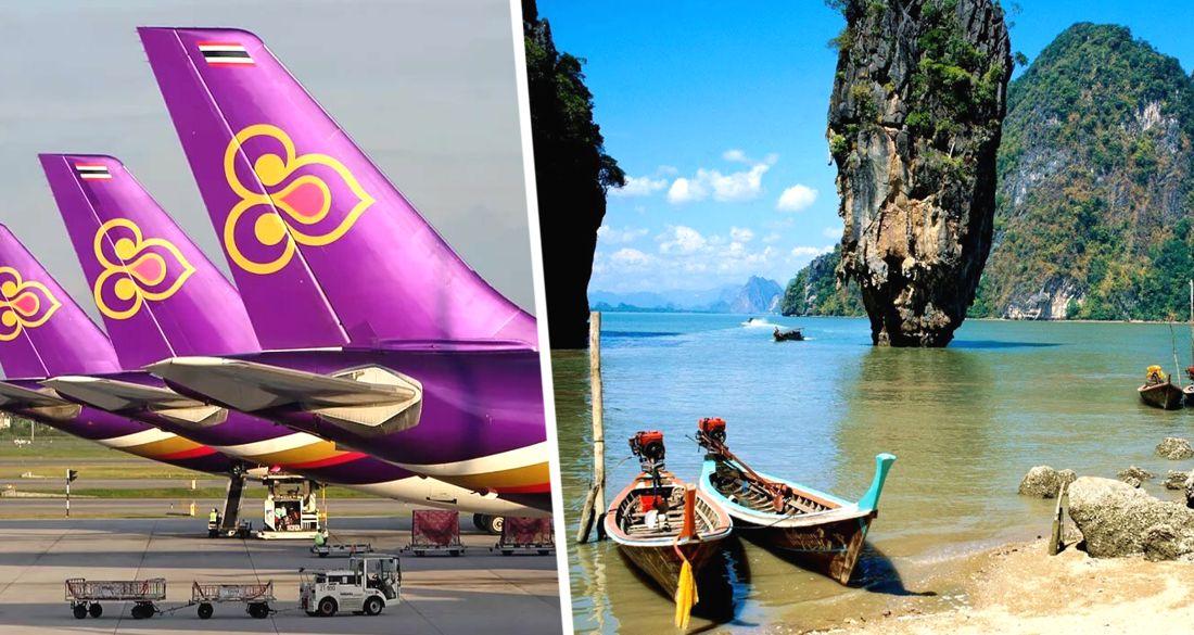 Thai Airways объявила дату возобновления международных полётов на Пхукет