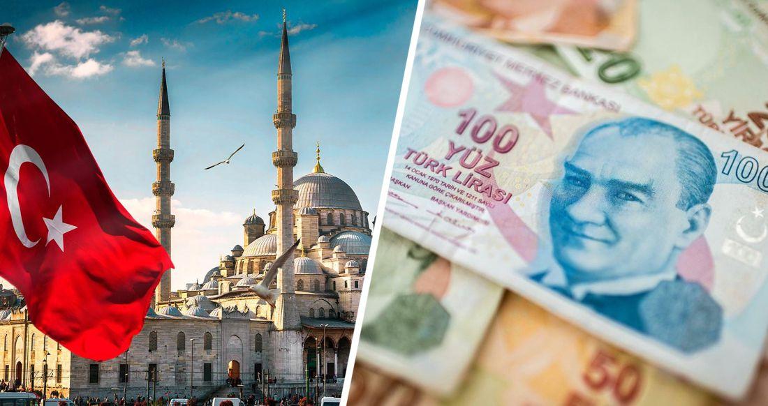 В Турции произошёл обвал курса лиры, что сделало отдых в Анталии ещё дешевле