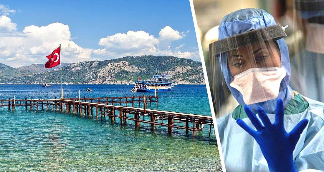 В Анталье проверили 65000 иностранных туристов на коронавирус: в 12 отелях работают лаборатории
