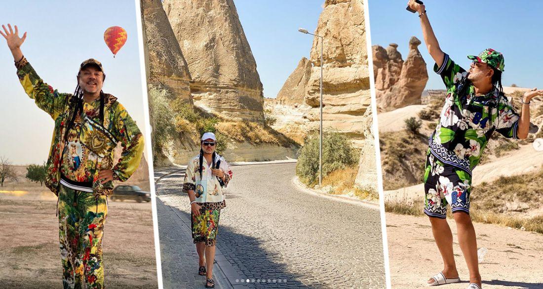 Филипп Киркоров отправился в путешествие по Турции