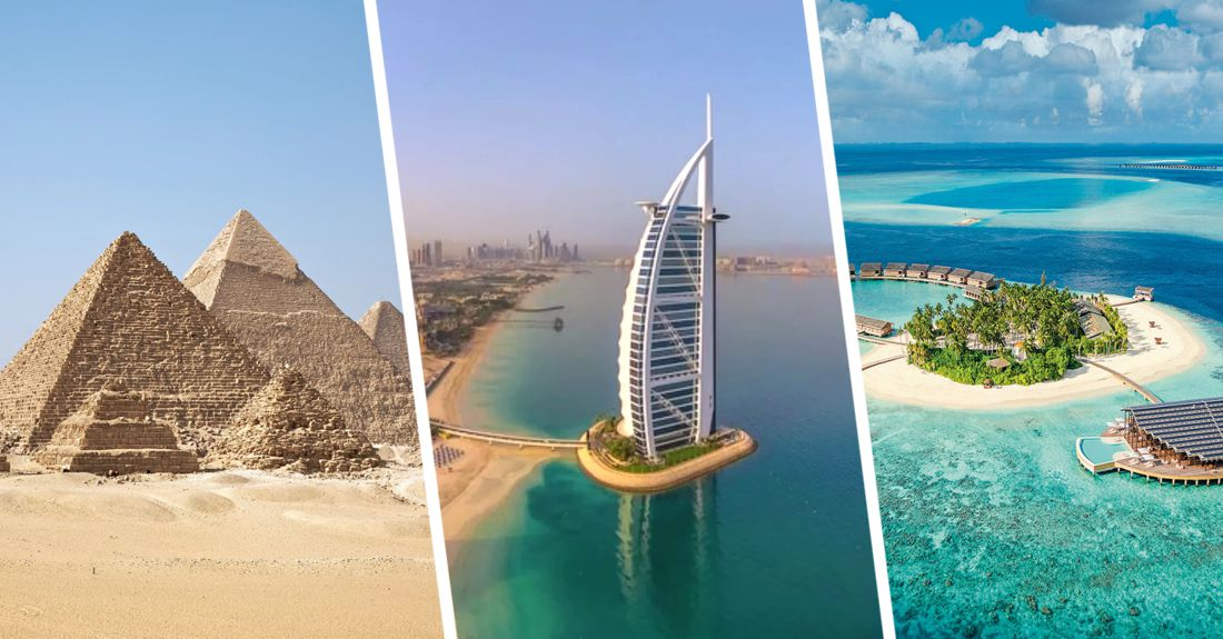 ✈ Авиакомпании озвучили цены в Дубай, Каир и Мале