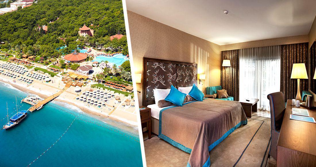 5-звездочный отель в Турции будет продан на аукционе: он был популярен у российских туристов