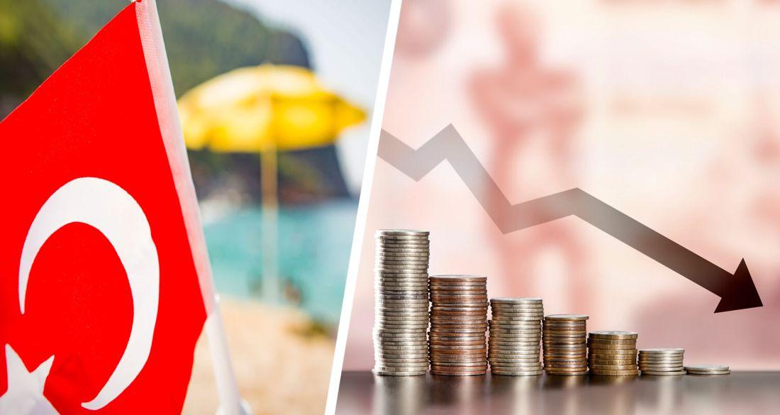 Доходы отелей Турции упали на 61,9%
