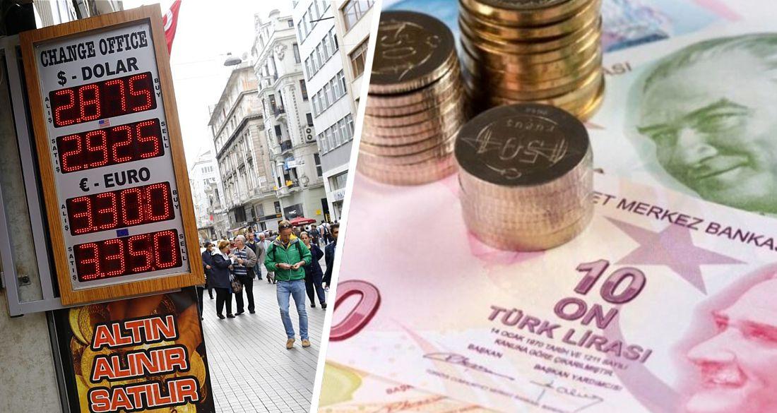 Турецкая Лира упала до рекордного минимума: отдых в октябре подешевеет
