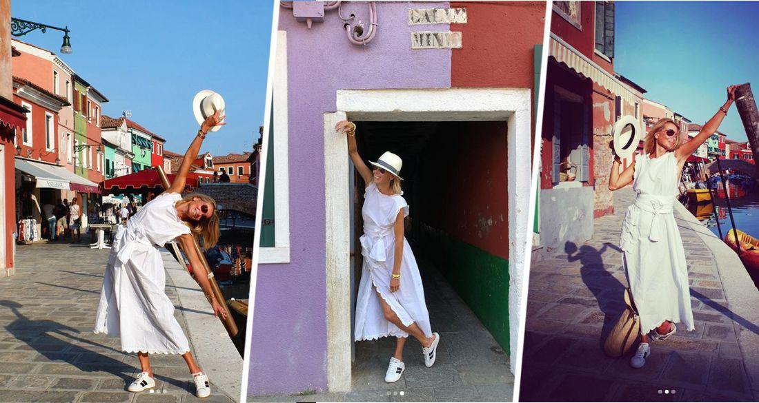 Юлия Высоцкая показала свой отдых в пустой Венеции, где теперь нет туристов