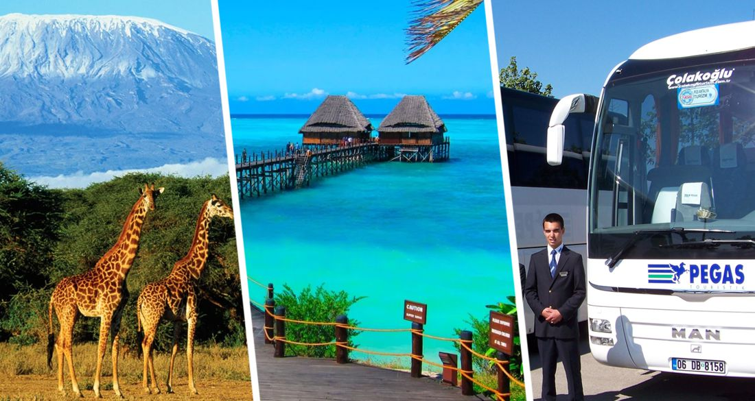 ϟ Пегас запускает чартер на Занзибар: стали известны расписание и цены на туры в Танзанию