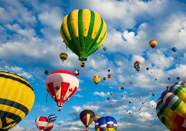 Почему стоит полетать на воздушном шаре