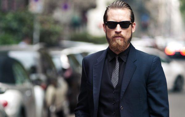 Мужская фотосессия в деловом стиле