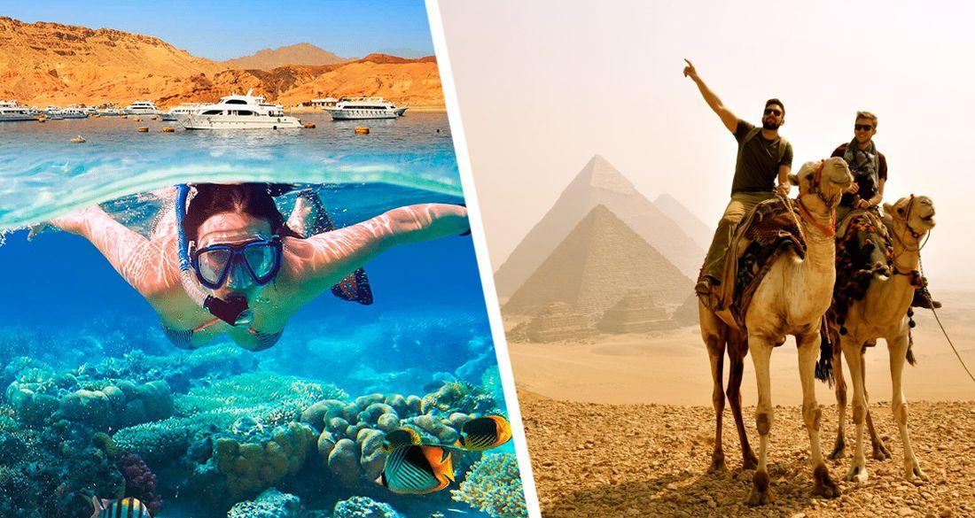 На курортах Египта за 3 месяца ни одного случая Covid-19: российские туристы активно едут в Хургаду и Шарм-эль-Шейх