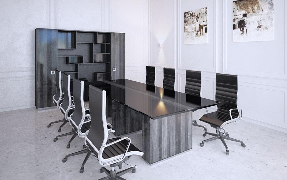Стильная мебель для переговорных комнат купить в Москве