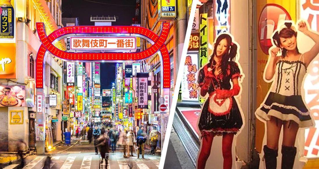 В токийском районе Красных фонарей открывается тематический парк только для взрослых с порнозвездами на ресепции
