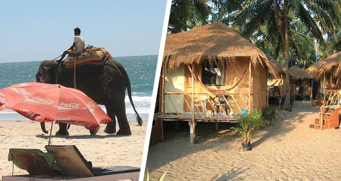 В Гоа не знают, что делать с пляжными лачугами для туристов