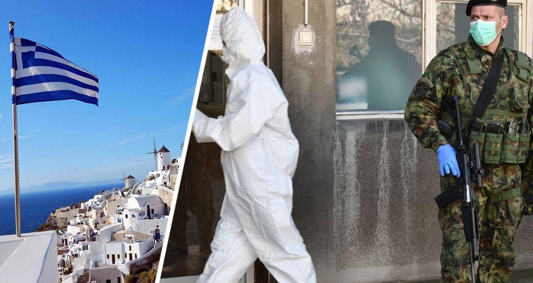 Греция на 3 недели закрылась на локдаун, оставив открытыми отели