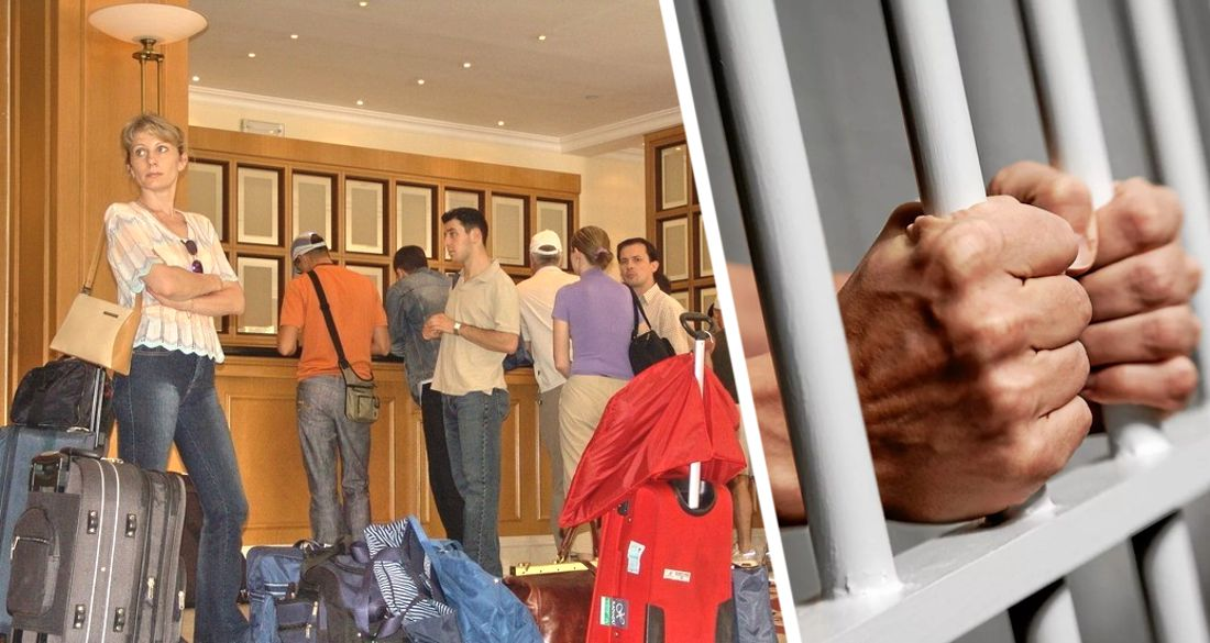 Всех туристов заперли в отелях