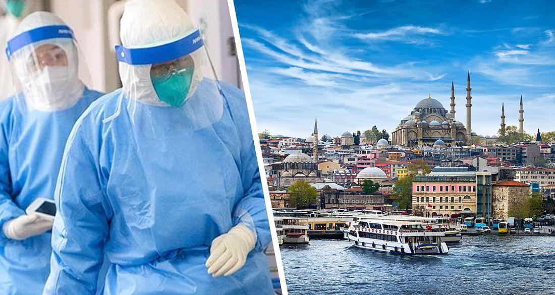ϟ Каждый пятый турист в Турции заражается Covid-19