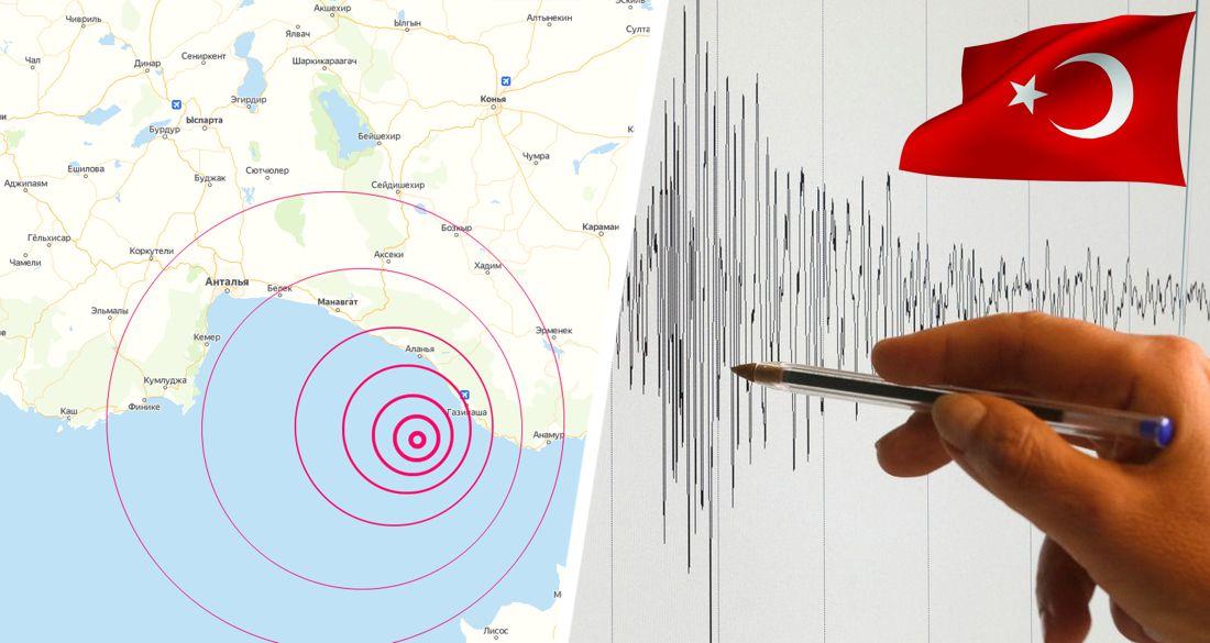 В Анталье произошло землетрясение: комендантский час пришлось отменить из-за паники