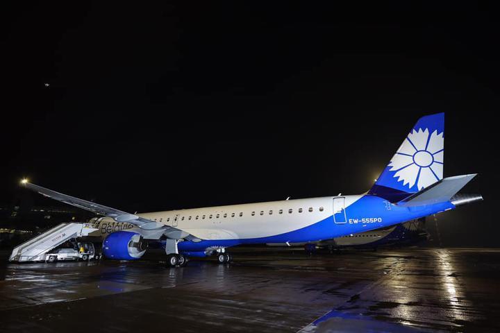 «Экономичность позволит снизить стоимость авиабилетов». У «Белавиа» новый самолет - Embraer E195-E2