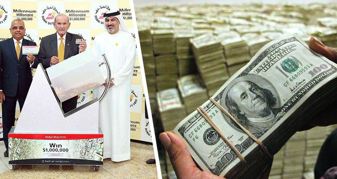 В Дубае безработный выиграл $1 миллион