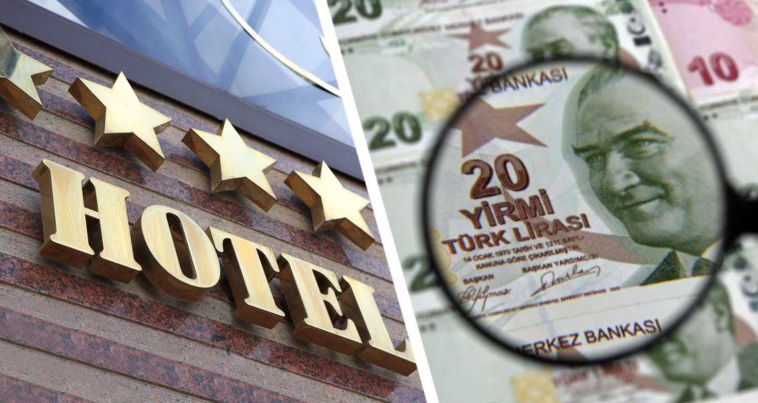 Роскошный отель в Турции был захвачен кредиторами