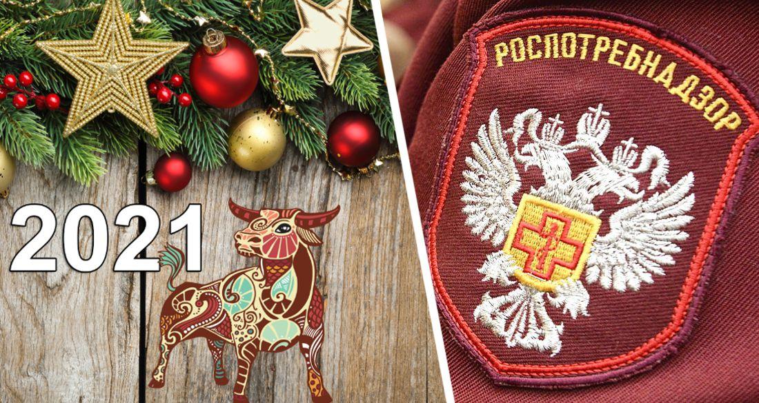 Родственников и друзей не приглашать, за границу не ездить: Роспотребнадзор дал рекомендации по встрече Нового года