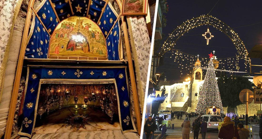 Вифлеем на Рождество превратился в город-призрак