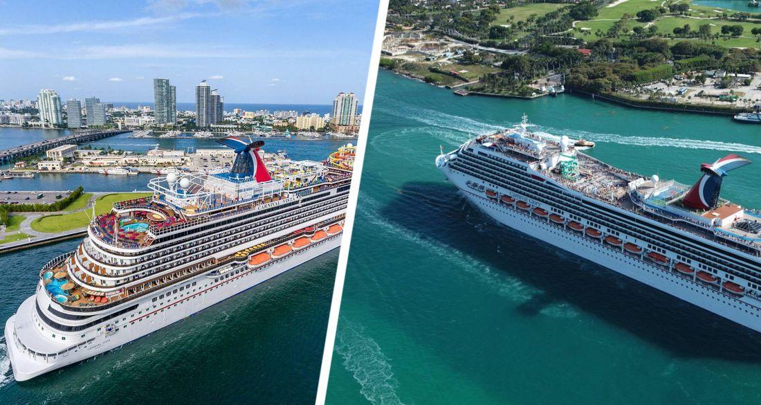 Carnival распродаёт круизные лайнеры