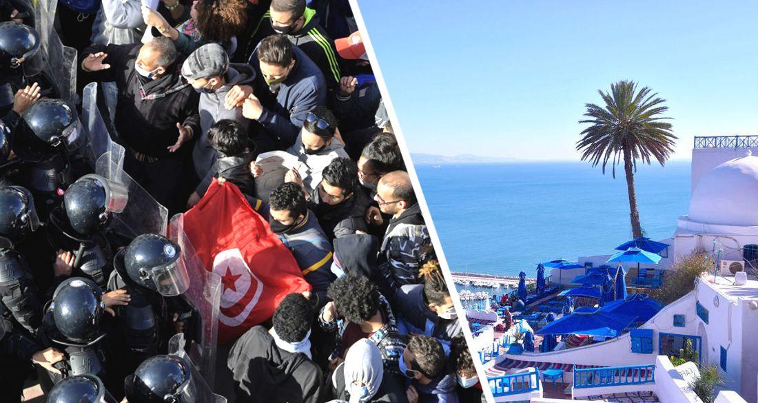 Беспорядки переросли в революцию: Арабская весна 2.0 в Тунисе поставила туристический сезон под вопрос