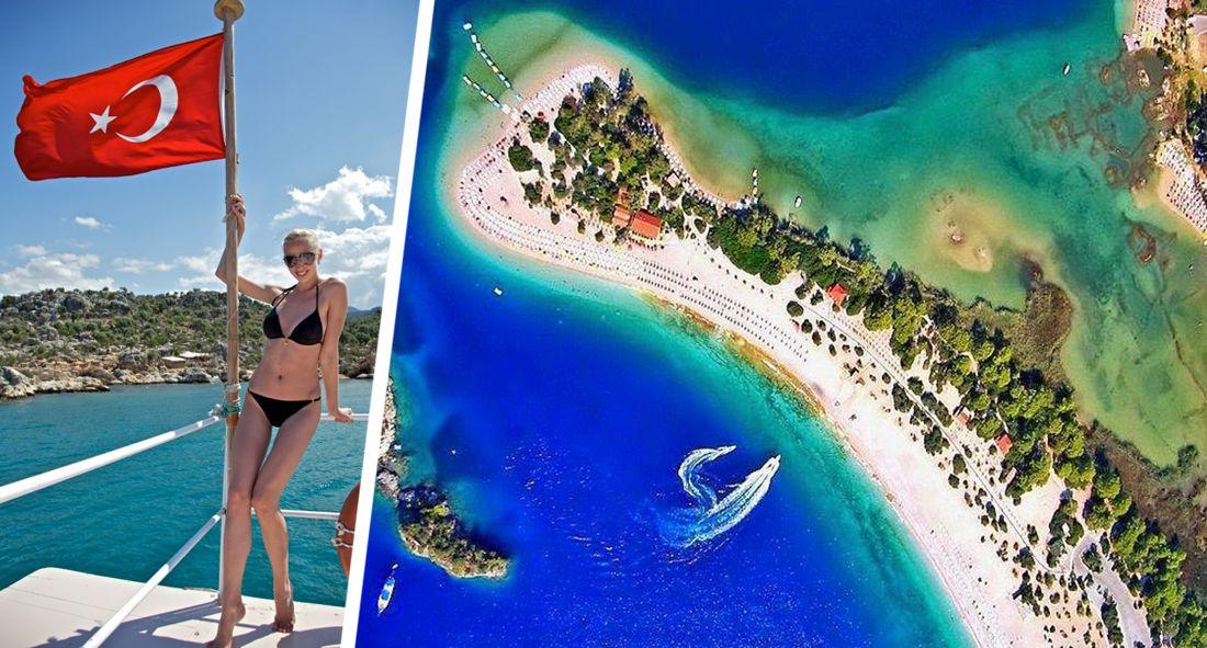 В Анталию вернулось лето: российские туристы повалили на пляж