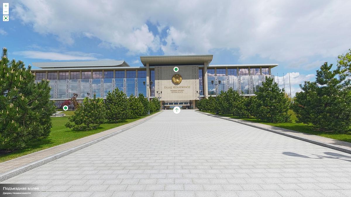 «Аквадискотеки нет». Появилась официальная виртуальная экскурсия по Дворцу независимости. Что там есть