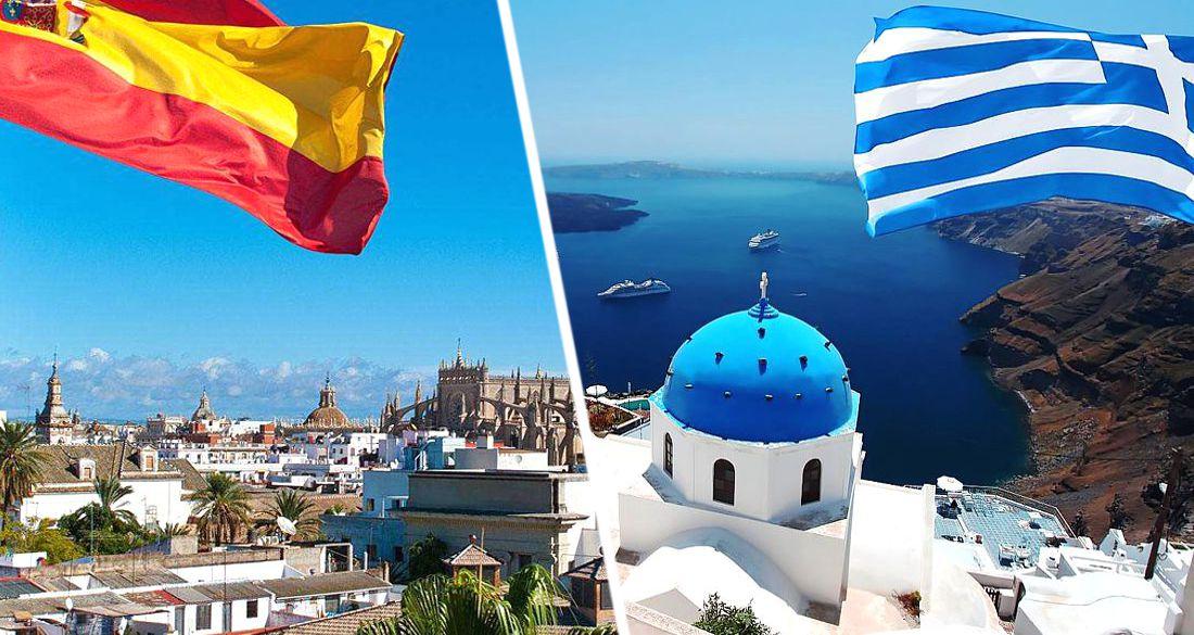 Эксперт сравнил шансы Греции и Испании открыться для туристов