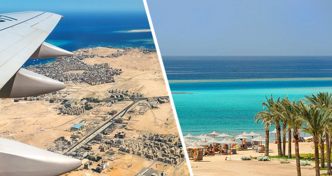 В египетский Марса-Алам полетели первые чартеры с туристами