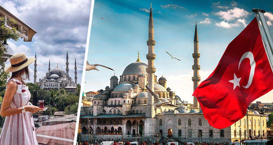 Стамбул подсчитал туристов: россиян оказалось больше всего