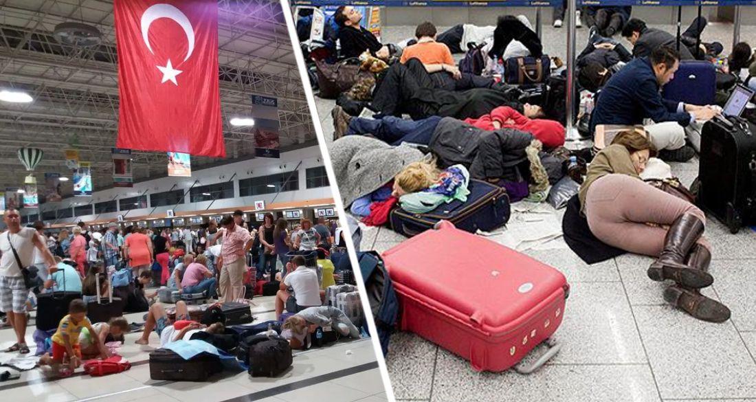Все разводят руками и говорят, что помочь не могут: российские туристы, застрявшие в Анталии, возмущены отношением
