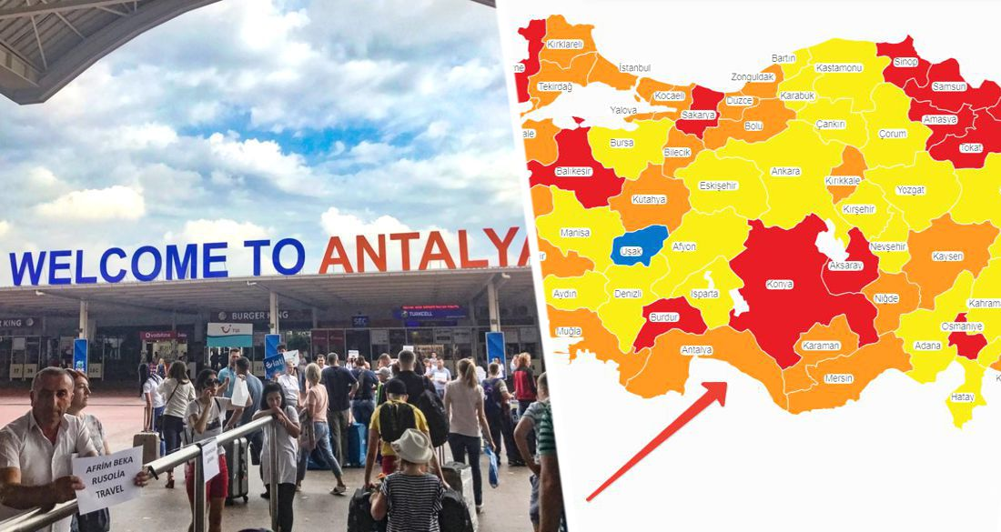 Турки бьют тревогу: Анталия может переместиться из опасной «оранжевой зоны» в «красную» - сверхопасную