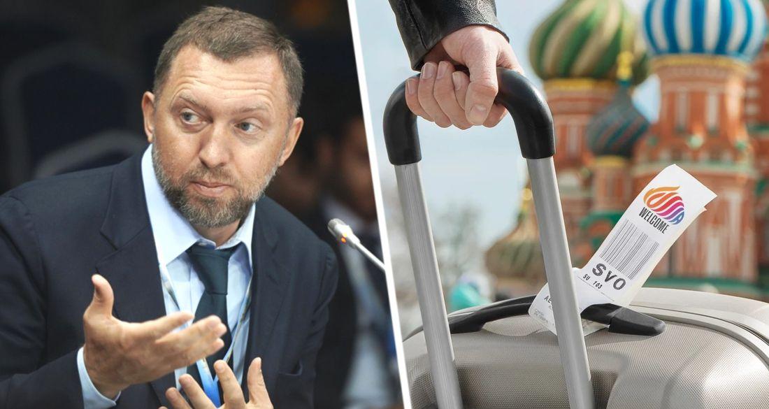 Дерипаска заступился за российский туризм: «это убьёт его»