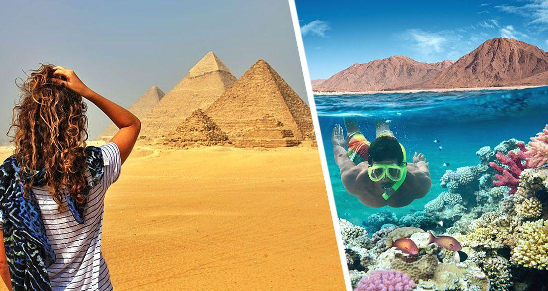 На курорты Египта пришла летняя жара: самолеты в Хургаду и Шарм-эль-Шейх заполнены на 100%