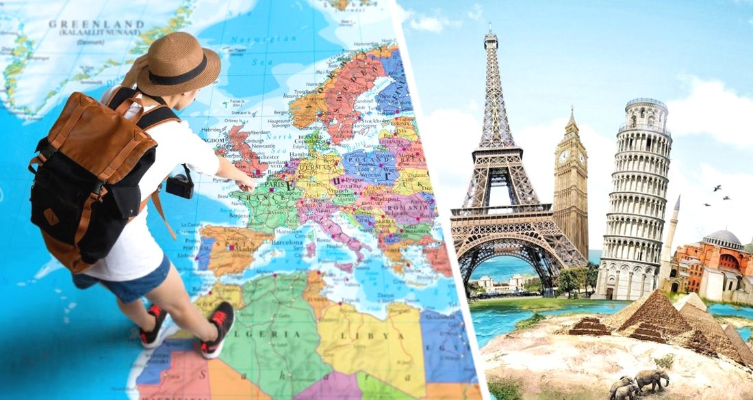 Туристы раскололи Европу