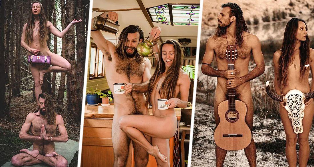 Туристы начали зарабатывать голым туризмом. ФОТО