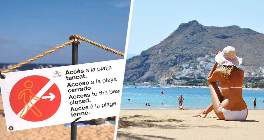 В Испании усилились протесты против открытия страны для иностранных туристов