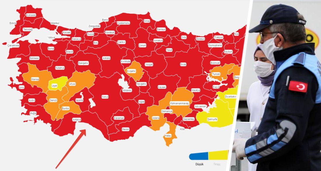 Открытие Турции в опасности: Анталия обновила рекорд по приросту коронавируса