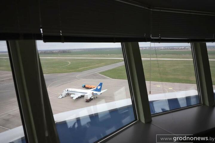 Из Гродно снова начали летать чартеры. Первый самолет отправился в Египет