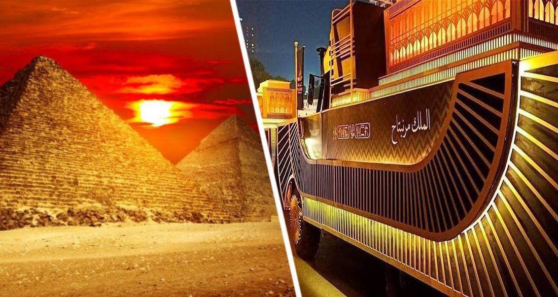 В Египте состоялся парад королевских мумий