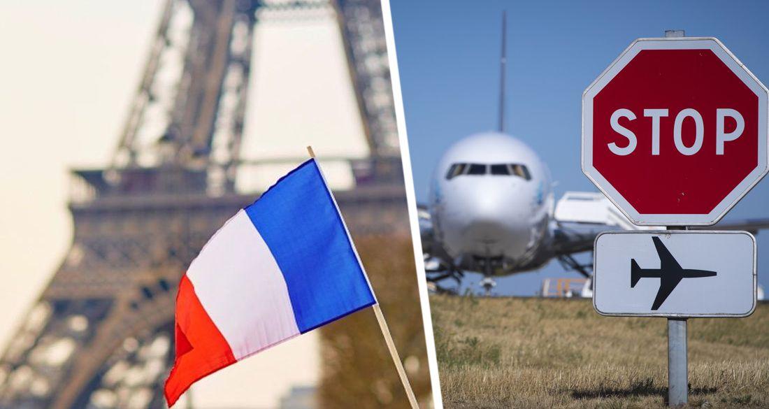 Франция запрещает авиаперелеты: подробности