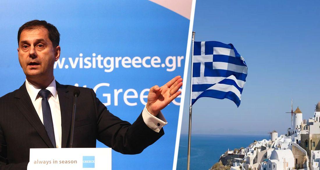 Министр по туризму Греции срочно вылетает в Москву для досрочного открытия границ
