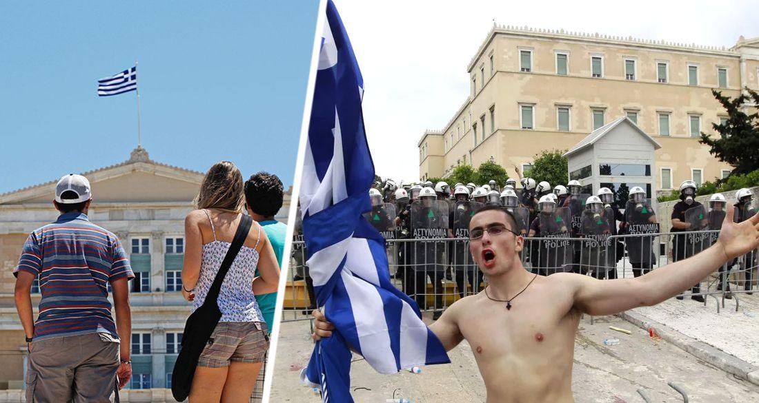 В Греции растёт возмущение против туристов
