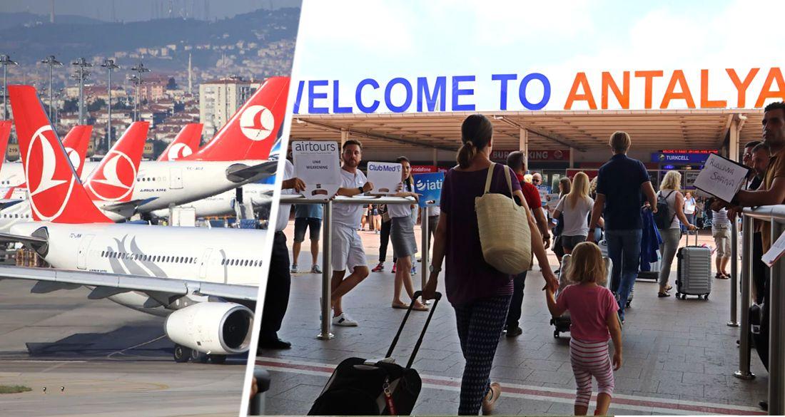 Как и где российскому туристу, вылетающему в Турцию, заполнить электронную анкету
